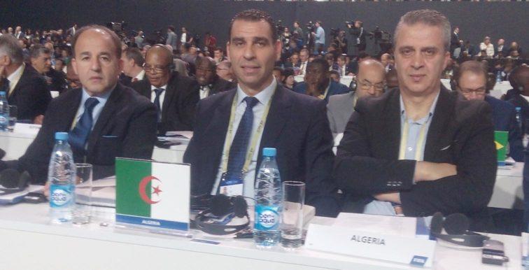 CAF : Zetchi aux travaux de l'AGO en Égypte