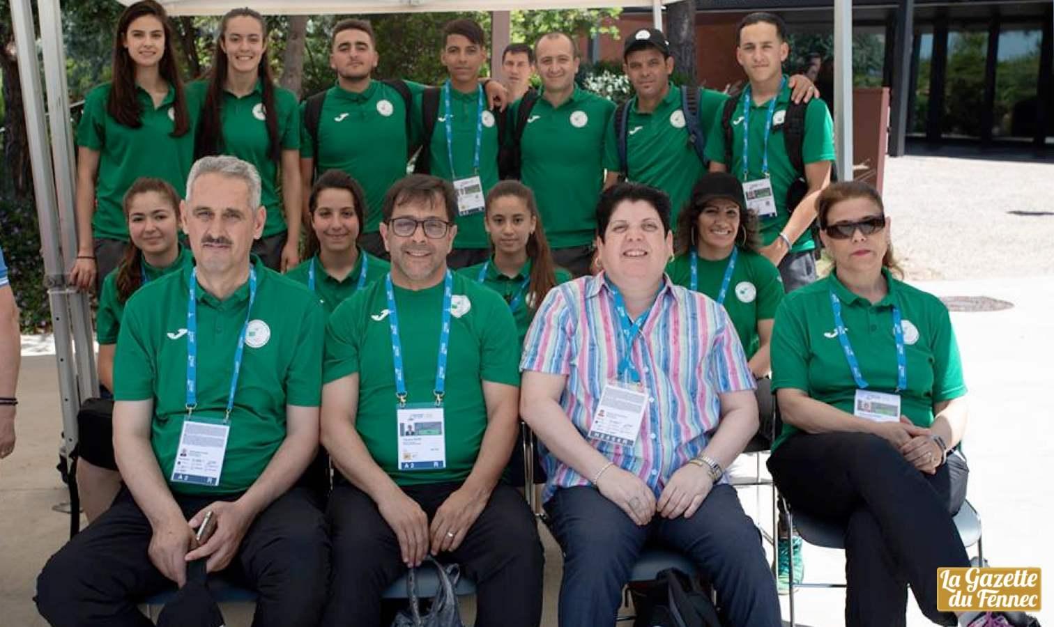 delegation boulmerka tarragone 2018