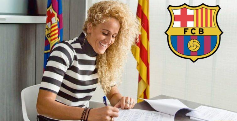 Mercato : Kheira Hamraoui signe au FC Barcelone !