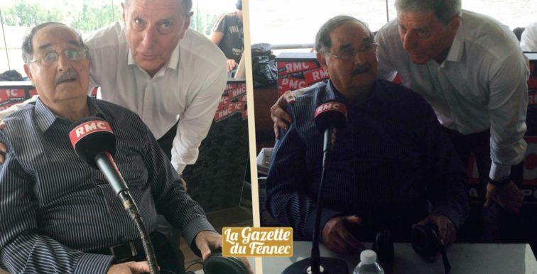 Hommage : Larqué très ému de revoir Mekhloufi