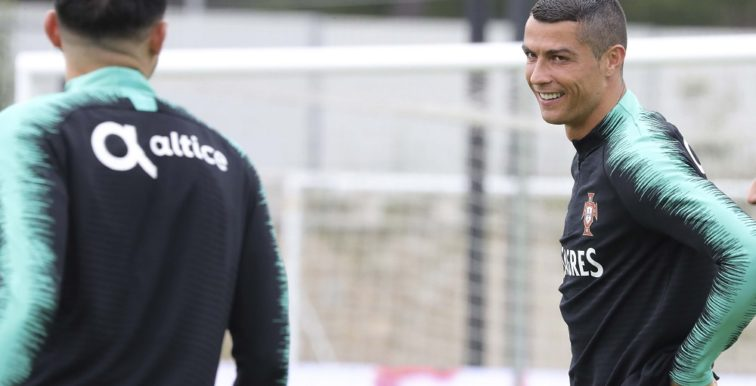 Portugal : Cristiano Ronaldo a repris les entrainements