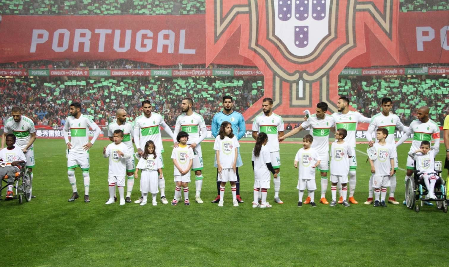 portugal onze algerie