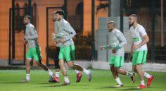 EN : reprise difficile avant le départ pour Lisbonne