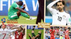 Russie 2018 : Bilan de la phase de poules, pour l'Afrique c'est 0 !