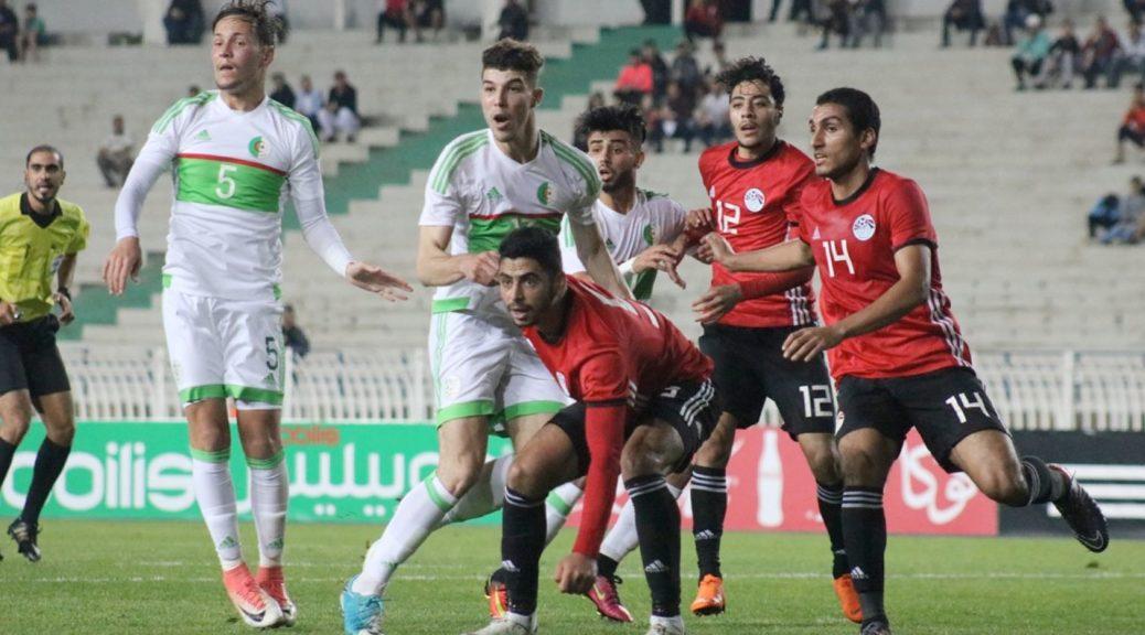 selection U21 algerie egypte mahious