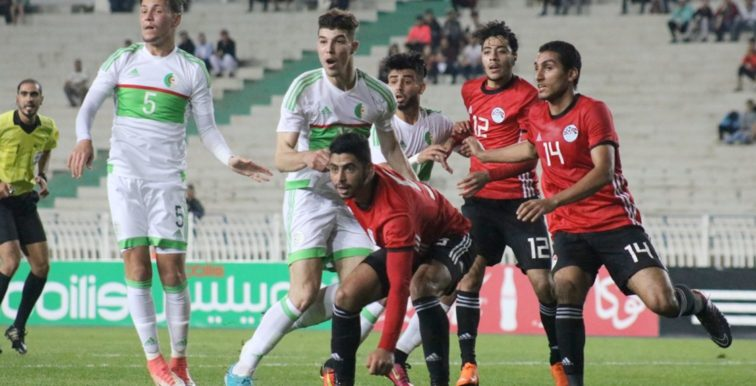 U23 : Égypte-Algérie en amical le 19 novembre au Caire