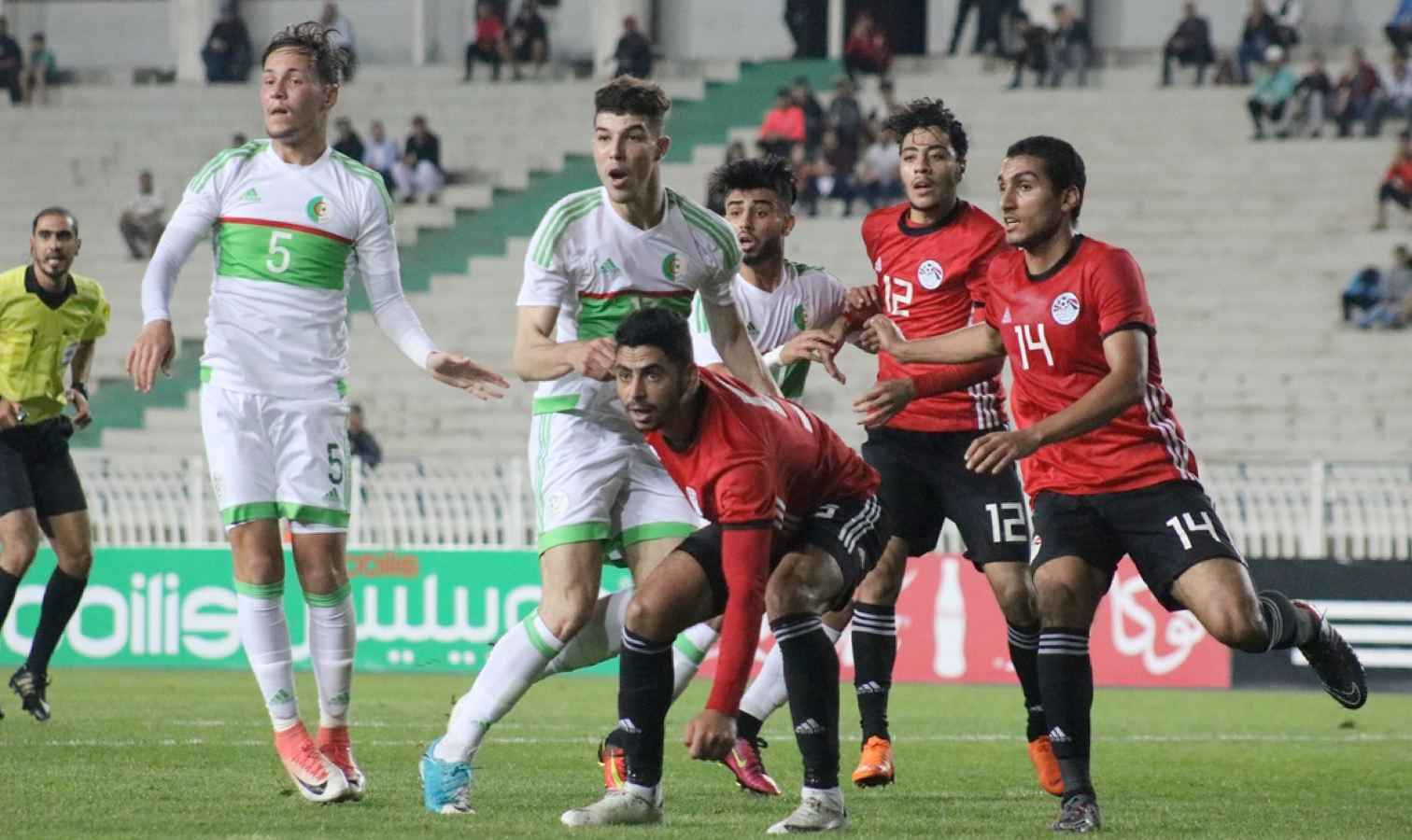 selection U21 algerie egypte mahious
