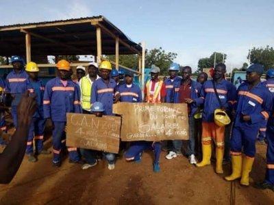 greve chantier cameroun biya CAN 2019