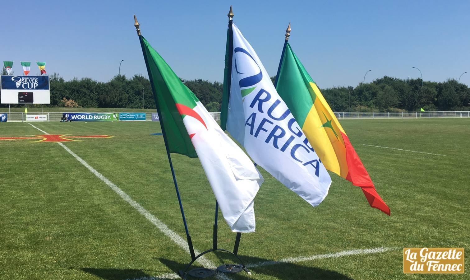 drapeaux silver cup algerie rugby toulouse