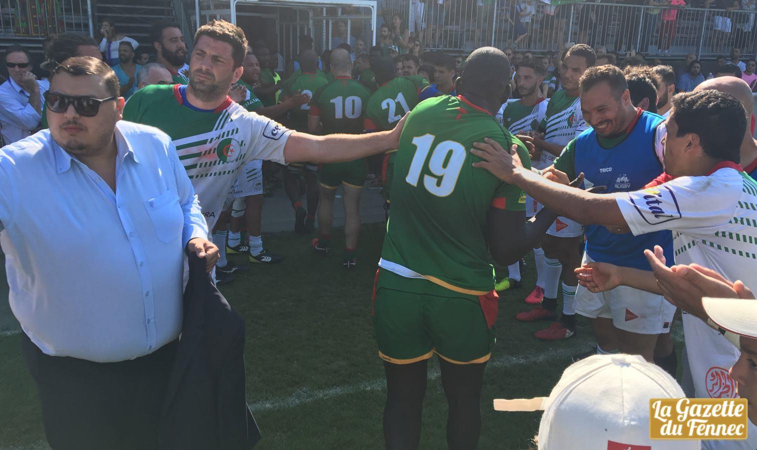 haie honneur silver cup algerie senegal rugby toulouse