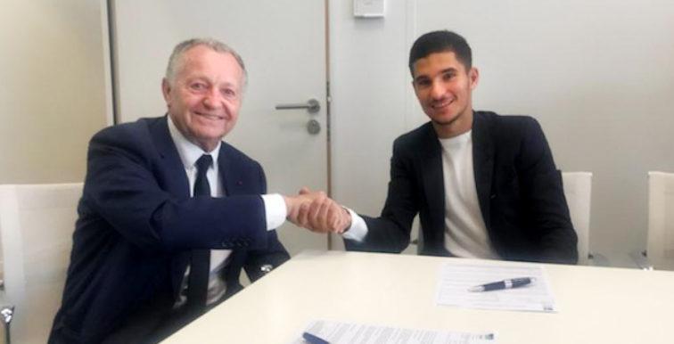 Lyon : Aouar prolonge son contrat