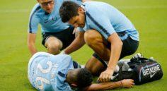 Manchester City : Mahrez se blesse à la cheville face au Bayern