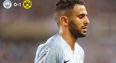 Manchester City : les premiers pas de Mahrez face à Dortmund