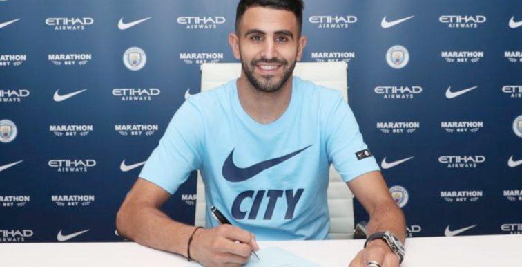 Manchester City : Mahrez affiche ses ambitions