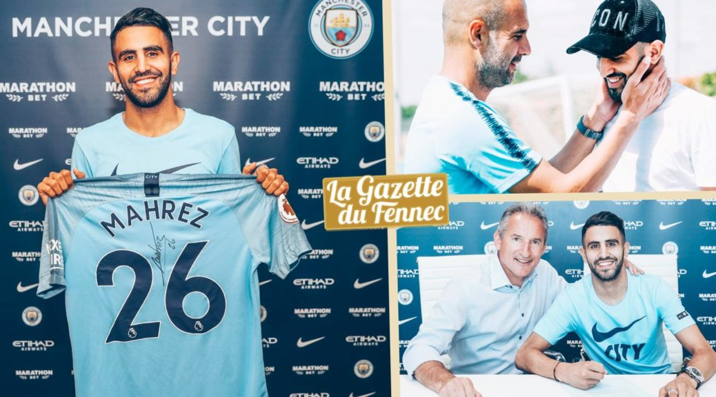 mahrez signature man city