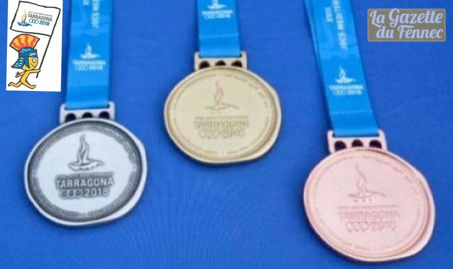 medaille tarragone 2018