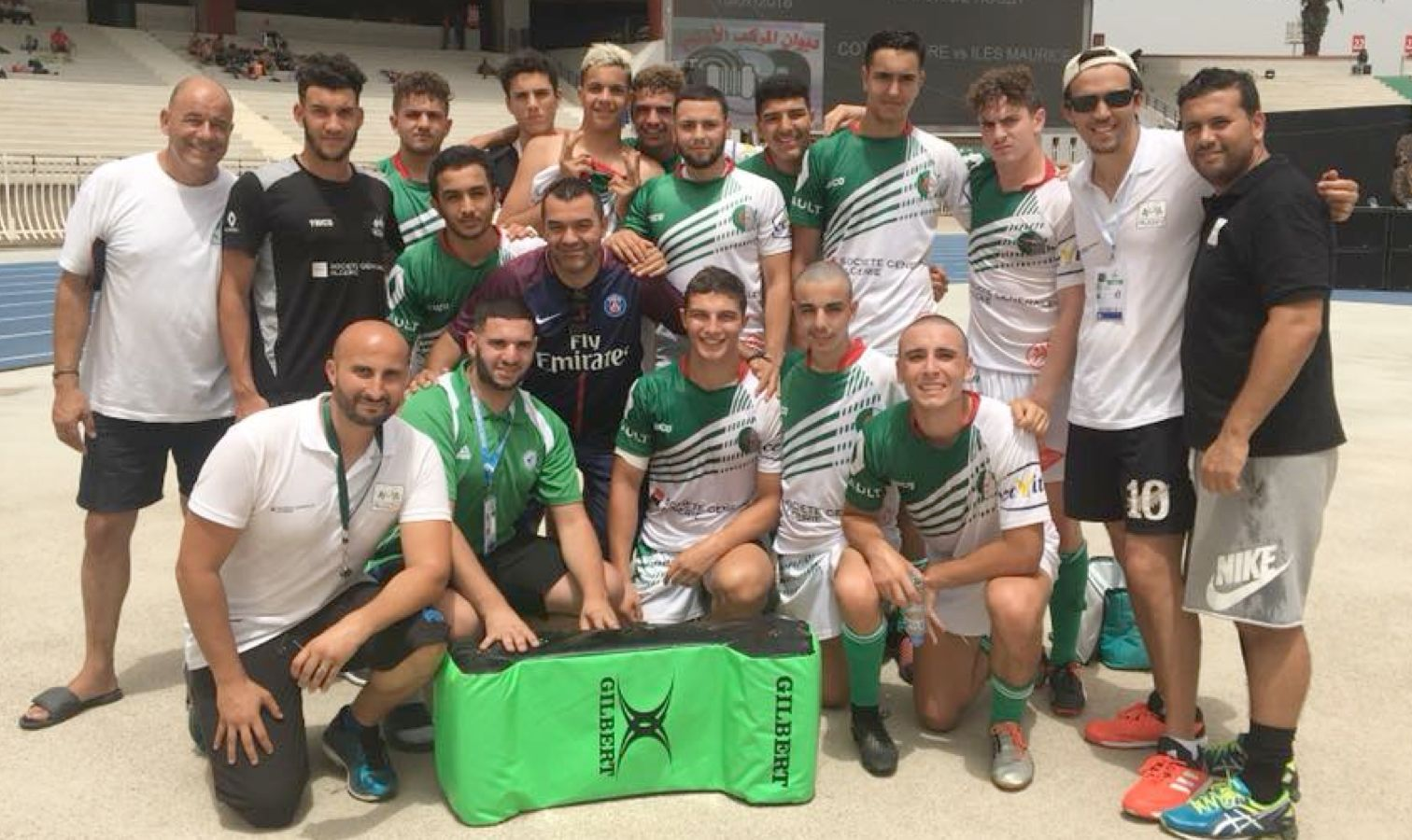 rugby algerien jeune u18 jaj