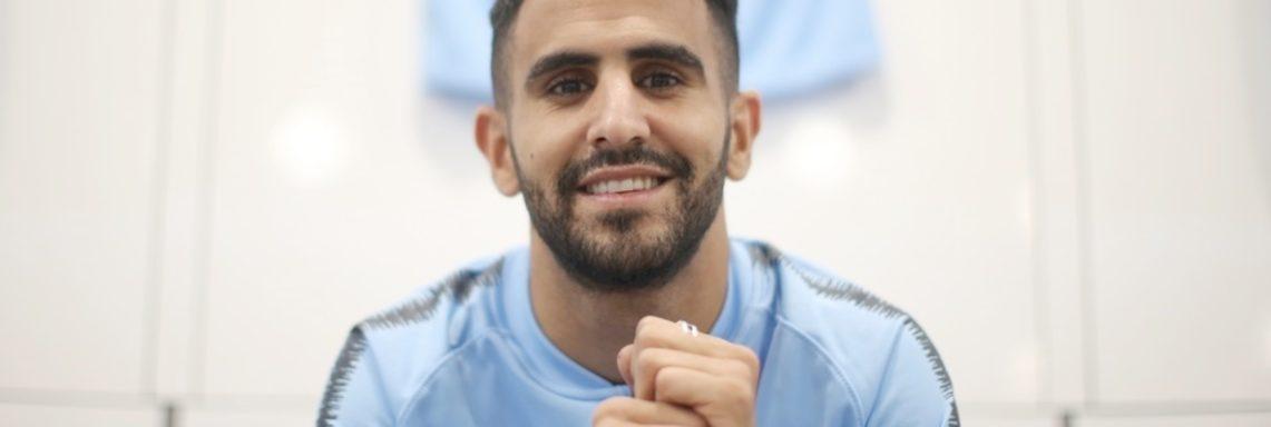 Mahrez : «Manchester City, c'est le club qu'il me fallait !»