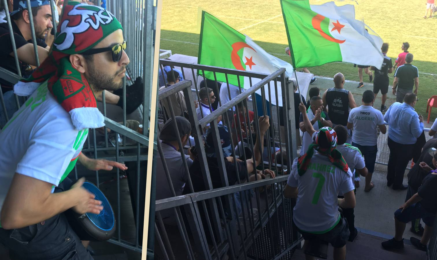 supporters silver cup algerie senegal rugby toulouse
