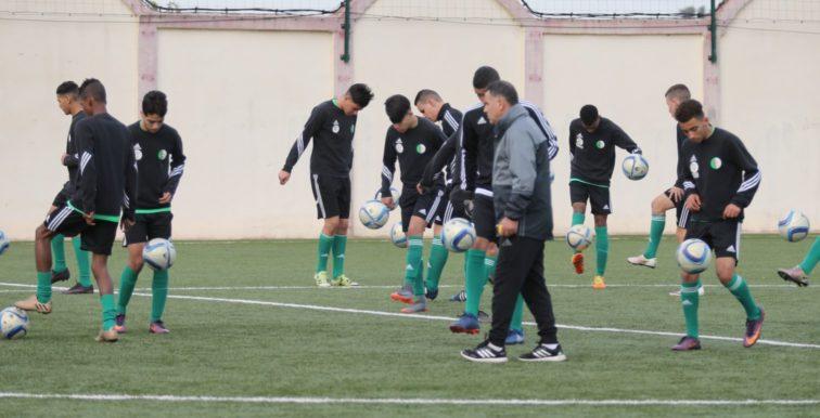 U17 : la sélection en stage à Sidi Moussa