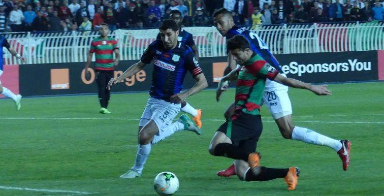 LDC CAF : Difaâ Jadida 2-0 MC Alger