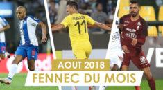 Août 2018 : Votez pour votre Fennec du mois