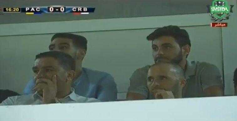 L1 : Belmadi a assisté à la rencontre PAC-CRB (0-0)