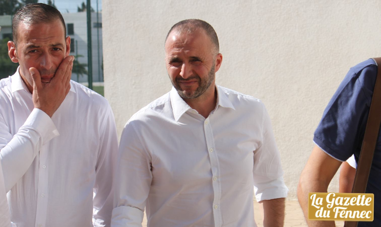 belmadi chemise blanche