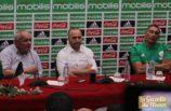 La signature de contrat et présentation de Djamel Belmadi