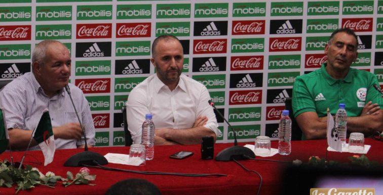 EN : conférence de presse de Belmadi ce mardi à Alger