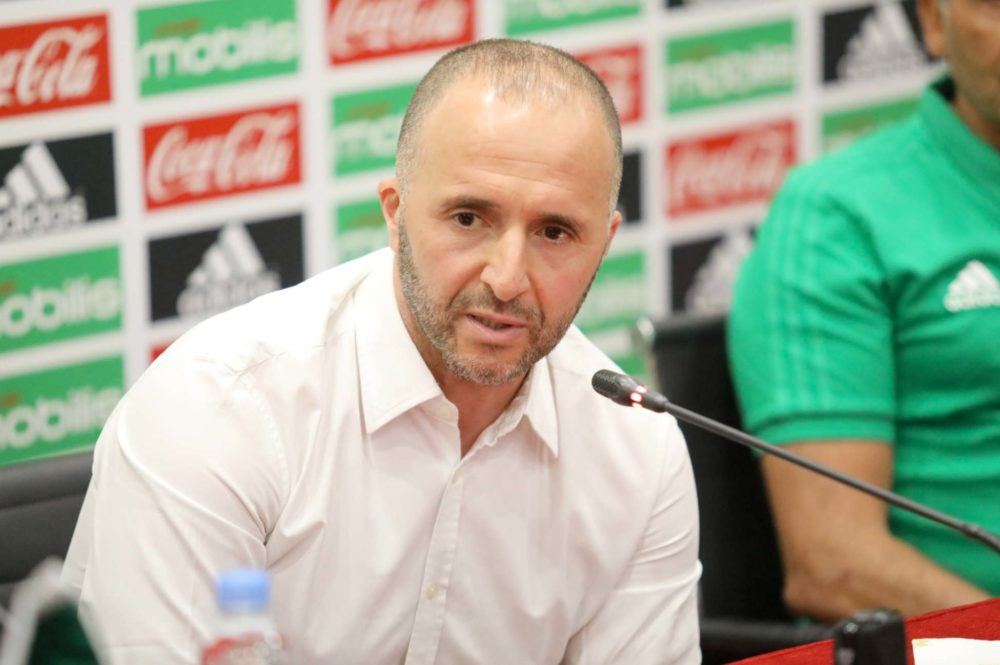 ?La signature de contrat et présentation de Djamel Belmadi