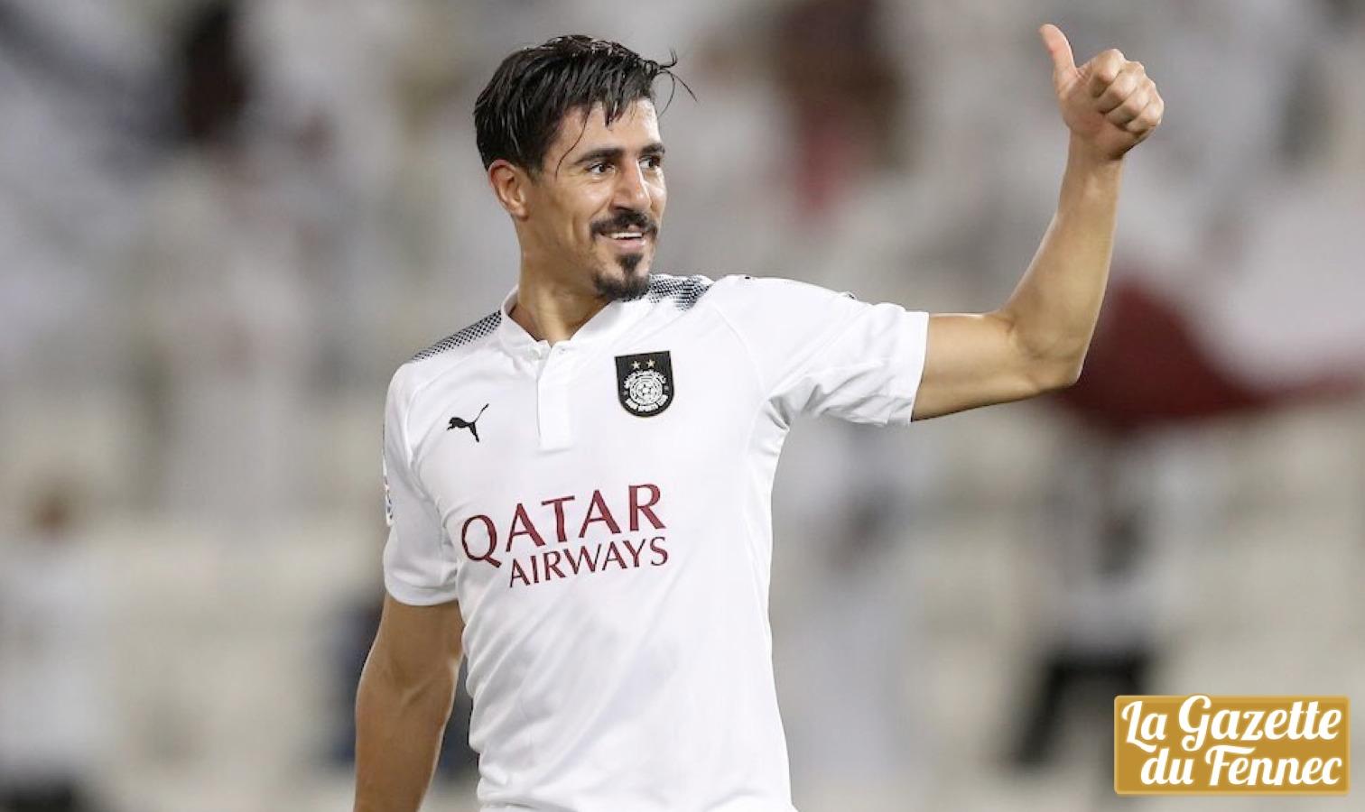 Baghdad Bounedjah marque 7 buts en un seul match (Vidéo)