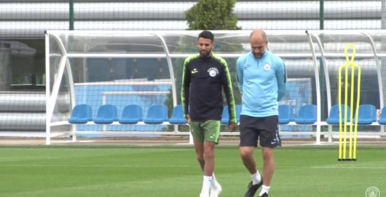 Manchester City : Mahrez opérationnel contre Chelsea