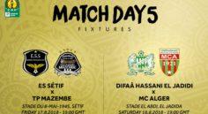 LDC CAF – 5e journée : le programme complet