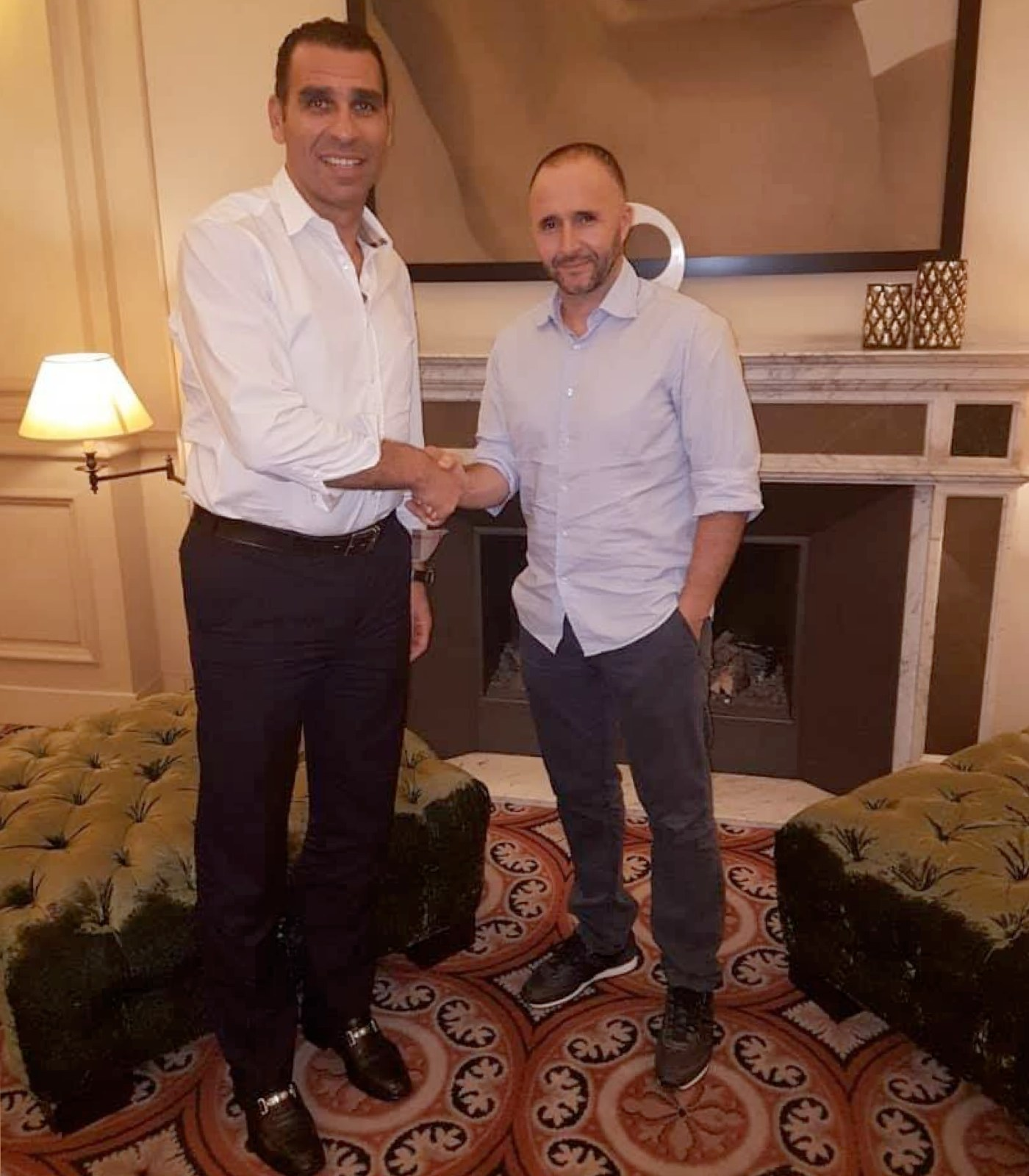 photo zetchi accord belmadi selectionneur