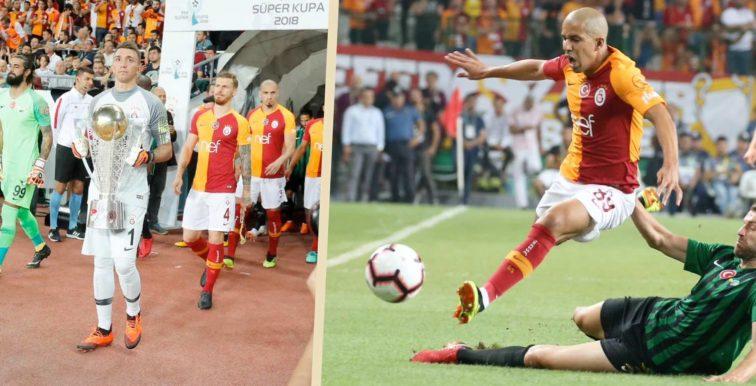 Supercoupe de Turquie : Galatasaray et Feghouli battus par Akhisarspor