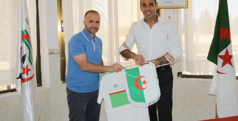 FAF : Belmadi a signé son contrat à Sidi Moussa