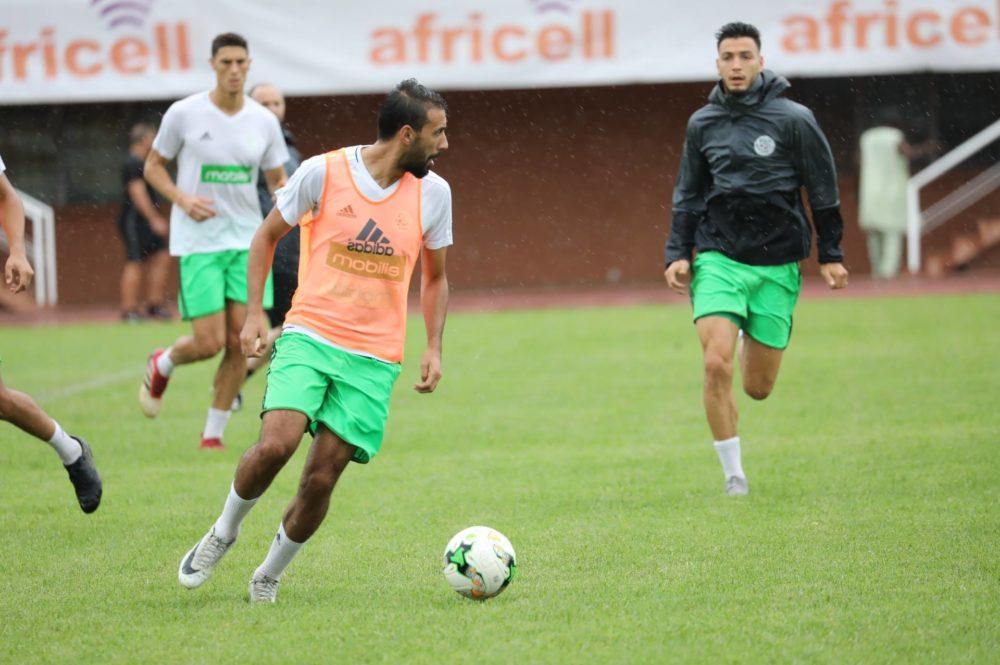 ?Gambie-Algérie, J-1 : dernier entrainement à Banjul