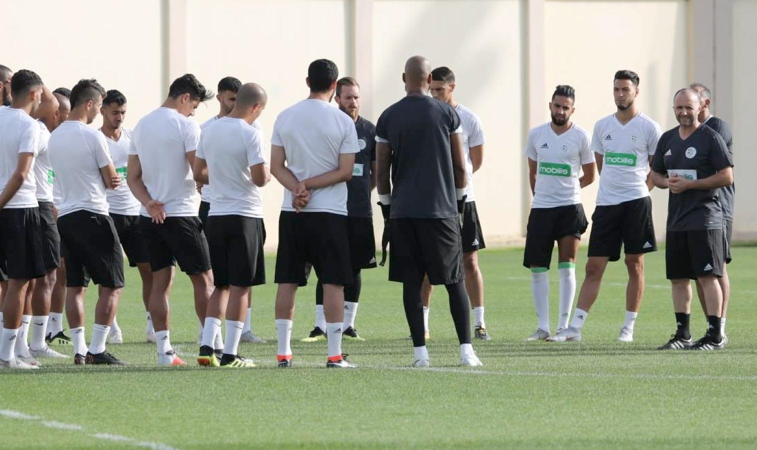 Des surprises dans le onze de Djamel Belmadi — Equipe nationale