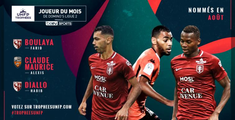 Ligue 2 : Boulaya nominé pour trophée UNFP du mois d'Août