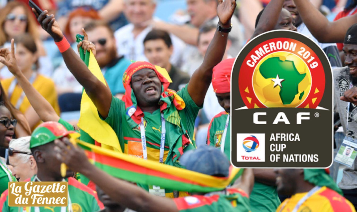 cameroun CAN 2019 supporter
