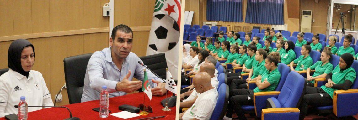 Zetchi «rêve» d'une qualification en Coupe du Monde 2019