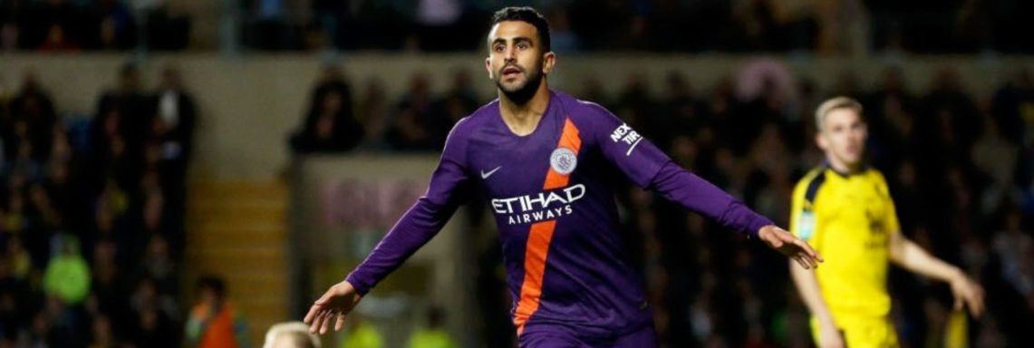League Cup : But de Riyad Mahrez face à Oxford United