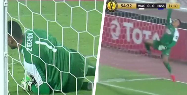 Moustapha Zeghba, l'incroyable match du gardien de l'ES Sétif
