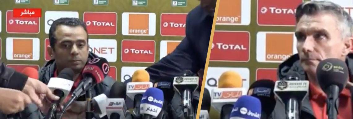 Un représentant de la CAF expulse un journaliste algérien