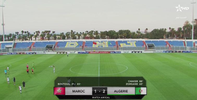 U21 : l'Algérie s'impose 2-1 face au Maroc