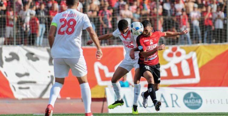 Ligue 1 : report du match DRB Tadjenanet – CR Belouizdad