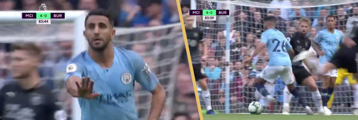 Superbe but de Riyad Mahrez face à Burnley
