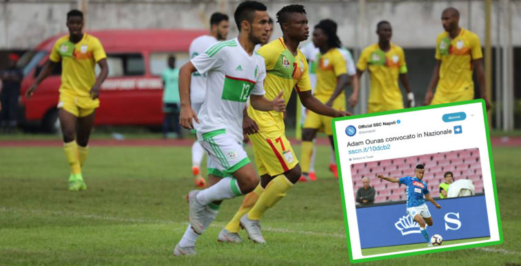 EN : Ounas convoqué pour le Togo