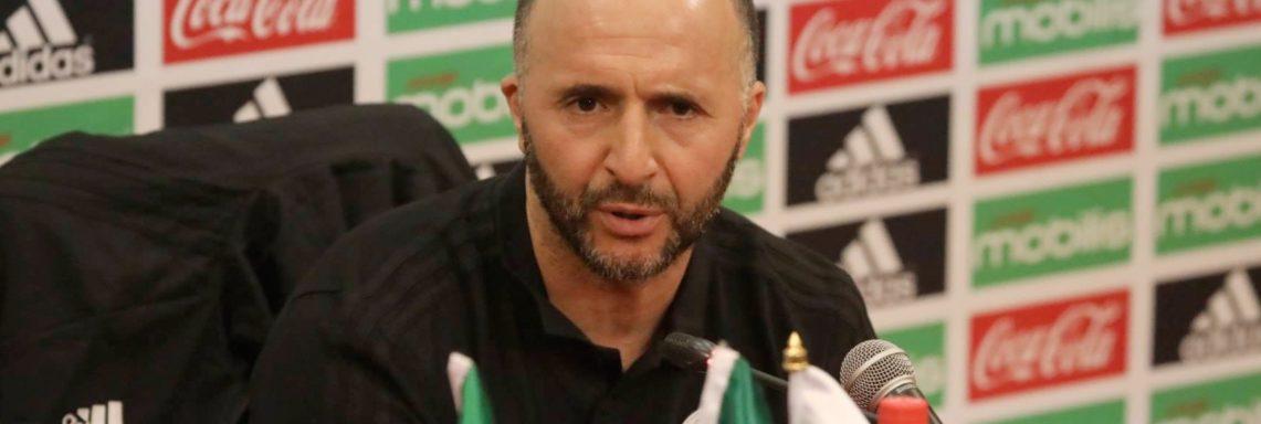 Belmadi : «On ira au Togo pour gagner»